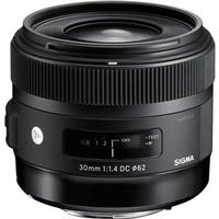 Sigma 30mm F1.4 DC HSM Art for Canon