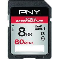PNY SDHC Turbo Performance UHS-I U1 80MB/s 8GB