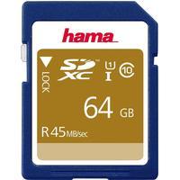Hama SDXC 45MB/s 64GB