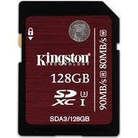 Kingston SDXC UHS-I U3 90MB/s 128GB