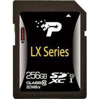 Patriot LX Series SDXC UHS-I U1 80MB/s 256GB