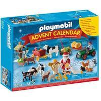 Playmobil Adventskalender- Jul på gården 6624