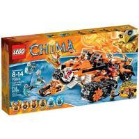 Lego Tigers mobila kommandofordon 70224