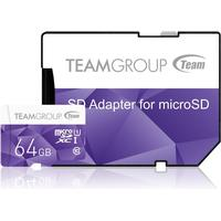 TeamGroup Color MicroSDXC 64GB UHS-I
