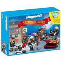 Playmobil Adventskalender Brandkårsinsats 5495