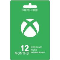 Microsoft Xbox Live Guldkort - 12 Månader