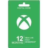 Microsoft Xbox Live Guldkort - 12 Måneder