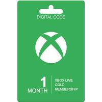 Microsoft Xbox Live Guldkort - 1 Måned