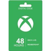 Microsoft Xbox Live Guldkort - 48 Timer