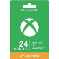 Microsoft Xbox Live Guldkort - 24 Månader