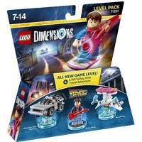 Lego Dimensions Tilbage Til Fremtiden 71201
