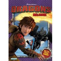 Kärnan Målarbok Dragons