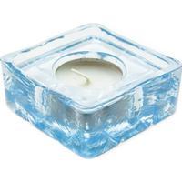 Vas Vitreum Crystal Kvilt 8cm Värmeljuslykta