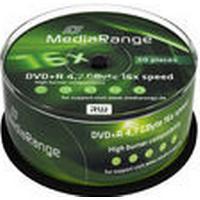 MediaRange DVD+R 4.7GB 16x Spindle 50-Pack
