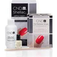 CND Vinylux CND Offly Fast Remover Kit