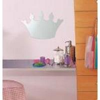 RoomMates Stort prinsessekrone spejl, wallstickers