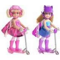 Barbie Super-Prinsesse Chelsea med løbehjul CDY68
