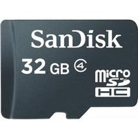 SanDisk MicroSDHC Class 4 32GB