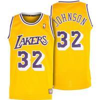 Adidas Los Angeles Lakers Swingman Jersey Johnson 32