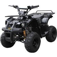 Megaleg ATV 125cc Auto m/bakgear Sort 8'' hjul