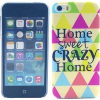 TPU-skal till iPhone 5/5S, Home Sweet Crazy Home