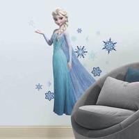 Frost ELSA figur GIANT wallstickers