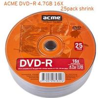 Acme DVD-R 4.7GB 16X Spindle 25-Pack