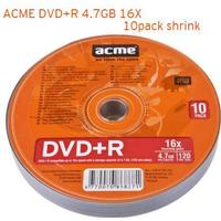Acme DVD+R 4.7GB 16X Spindle 10-Pack