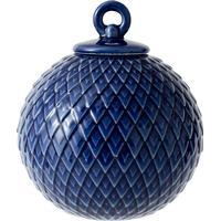 Lyngby Porcelain Rhombe Julgranskulor