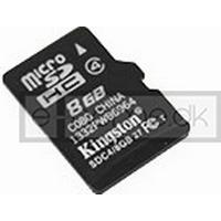 8 GB Micro SD/SDHC hukommelseskort