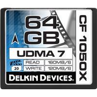 Delkin Compact Flash UDMA 7 64GB (1050x)