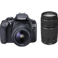 Canon EOS 1300D + 18-55mm III + 75-300mm III USM
