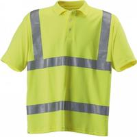 Regatta Hardwear Mens Hi-Vis Short Sleeve Polo Shirt