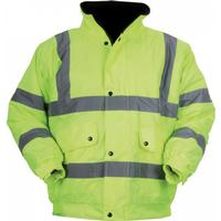 Regatta Hardwear Unisex Hi-Vis Bomber Jacket