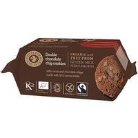 Doves Farm Dubbel Choklad Cookies eko- 180 g
