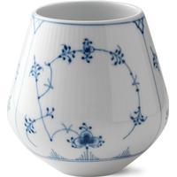 Royal Copenhagen Musselmalet Riflet Vase Lille 12cm