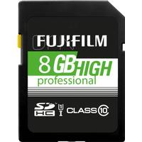 Fujifilm 8GB SDHC Card High Professional Class 10 UHS-I