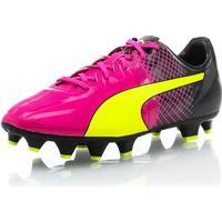 Puma evoSpeed 1.5 Tricks FG Jr - Rosa - unisex - Skor - Fotbollsskor - Grässkor UK3.5 / EU36