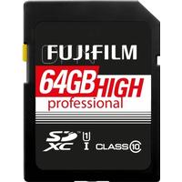 Fujifilm SDXC Professional UHS-I U1 64GB