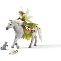 Schleich Festklädd Marween med häst 70517