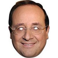 Francois Hollande Card Mask