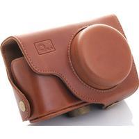 O.N.E PHOTOEQUIMENET O.N.E Läderväska för Samsung EX1 Brun