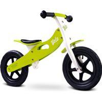 Velo Løbecykel i træ - Størrelse 3 - 6 år, Grøn & Hvid