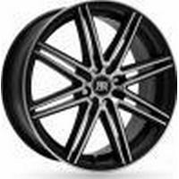 Racer Cross Black Polished 6.5x15 4/100 ET35 B73,1