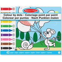 Melissa & Doug Colour by Dots