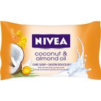 Nivea Coconut & Almond Oil, hånd- og kropssæbe (fast sæbe)
