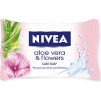 Nivea Aloe Vera & Flowers, hånd- og kropssæbe (fast sæbe)