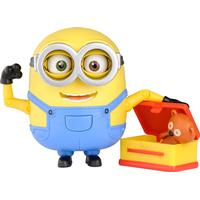 Minion Deluxe Action figures Bob With Teddy Bear