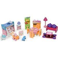 Le Toy Van Dockhusmöbler Startset