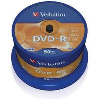 Verbatim DVD-R 4.7GB 16x Spindle 50-Pack